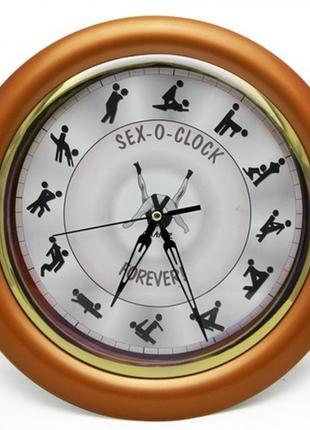 Настенные часы камасутра большие бронзовые
