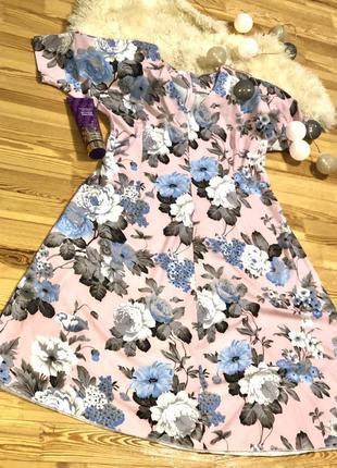 Сукня в квітковий принт на літо