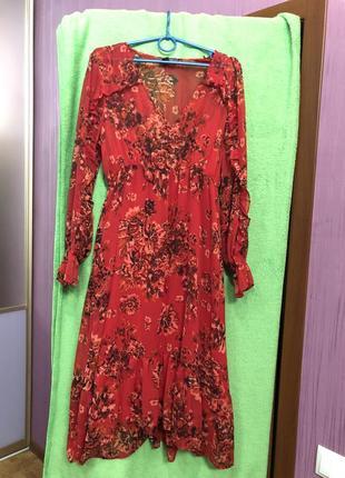 Платье шифон с подкладкой