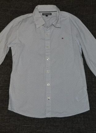 Рубашка tommy hilfiger рост 140 на 10 лет оригинал