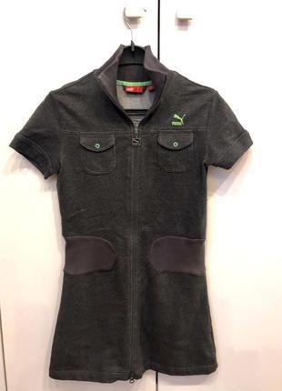 Puma платье- рубашка