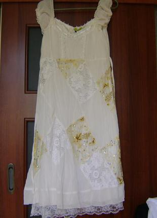 Очень красивое платье в стиле бохо