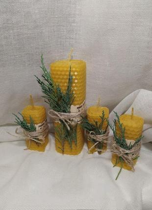 Набор свечей ручной работы1 фото