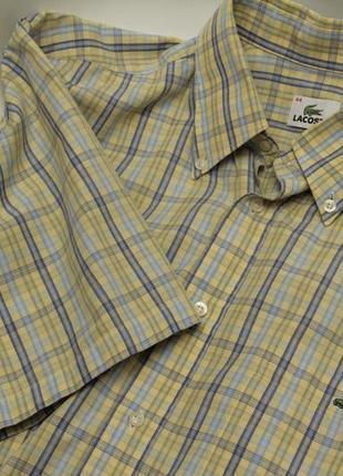 Lacoste рр l 44 рубашка из хлопка