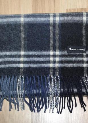Шерстяний шарф aquascutum