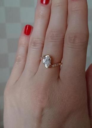 Подарок себе любимой 😜, красивое золотое кольцо