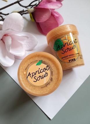 Скраб для тела victorias secret apricot из серии smoothie scrubs