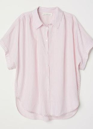 Блуза рубашка h&m l-xl