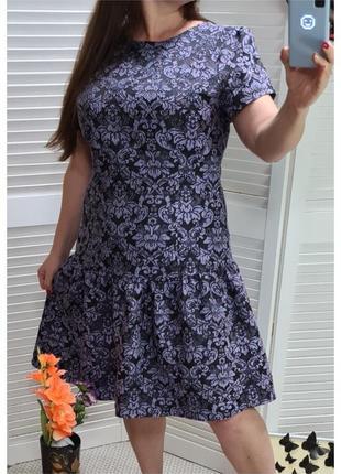 Твидовое платье с воланом monsoon