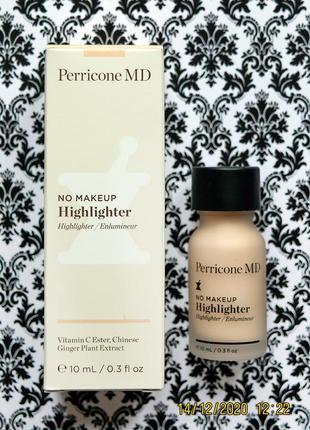 Хайлайтер perricone md no makeup highlighter - сыворотка для сияния кожи 10 мл