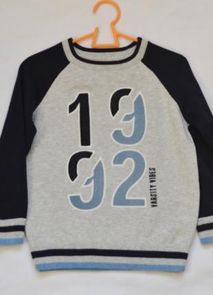 Фирменный свитер palomino для мальчика 5-6 лет