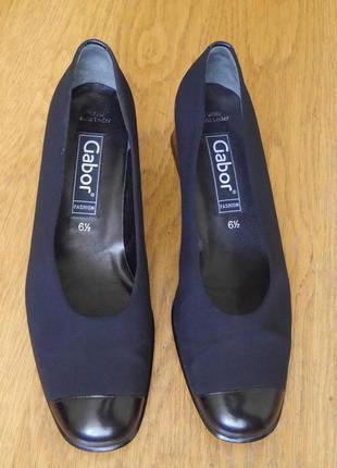 Туфлі розмір 6 1/2 на 40 стелька 26,7 см gabor