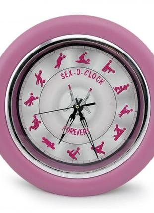 Настенные часы камасутра  розовые