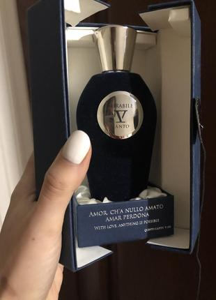 Нишевый парфюм v canto mirabille