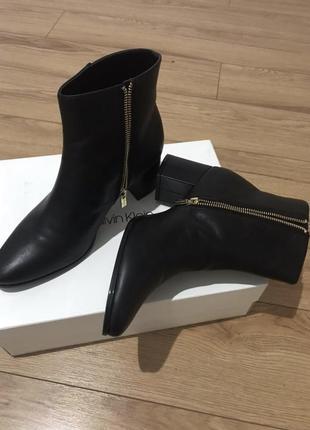 Ботинки 41 размер осень кожа
