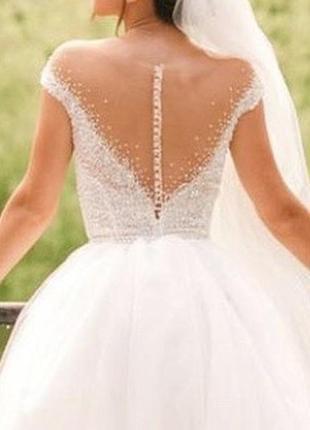 Весільна сукня milla nova4 фото
