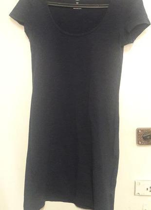 Короткое платье в обтяжку