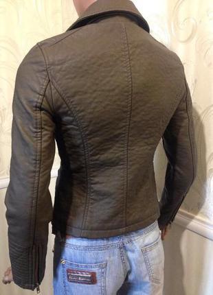 Куртка курточка косуха кожанка4