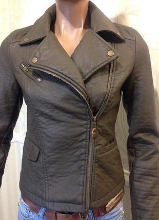 Куртка курточка косуха кожанка2
