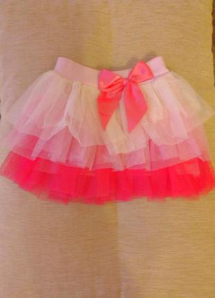 Красивая юбка на 1-3 года