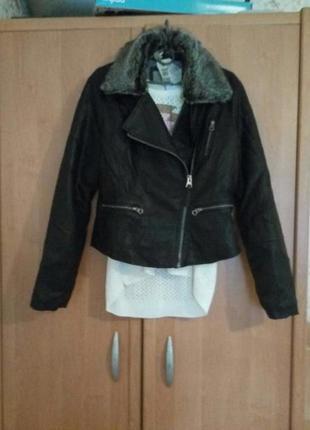 Куртка курточка косуха кожанка