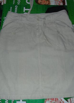 Натуральная летняя юбка большой выбор летней одежды!