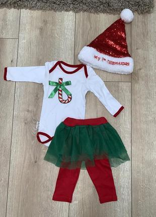 Новогодний наряд для ребёнка.