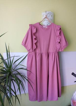 Миди платье из органического коттона primark