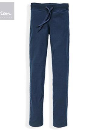 Нежные и удобные хлопковые штаны от blue motion, германия, р-р s 36-38 евро (наш 42-44)