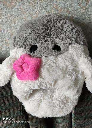 Іграшка-подушка-грілка для ніг