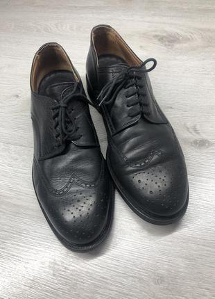 Кожаные туфли броги trickers
