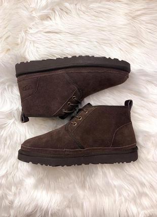 """Сапоги/ботинки ugg """"neumel chocolate"""" коричневые"""
