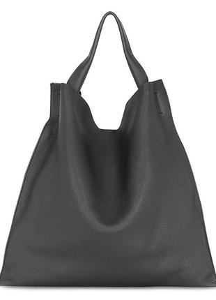 Кожаная сумка poolparty bohemia черная