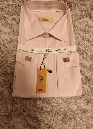 Мужская рубашка, 42р., 43р., маломерят