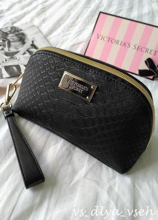 Шикарная маленькая косметичка beauty bag victoria's secret. оригинал. сша