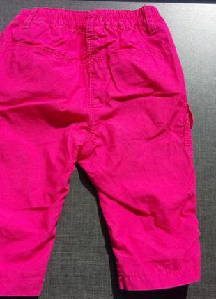Яркие штаны с котоновый подкладкой benetton