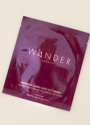 Патчи для век wander beauty baggage claim eye masks