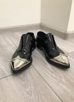 Туфли чёрные le silla