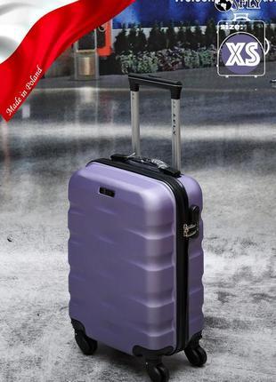 Прочный надежный чемодан fly  из поликарбоната+abc