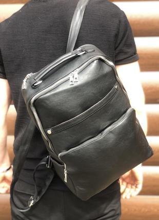 Вместительный рюкзак для ноутбука, городской, повседневный-унисекс