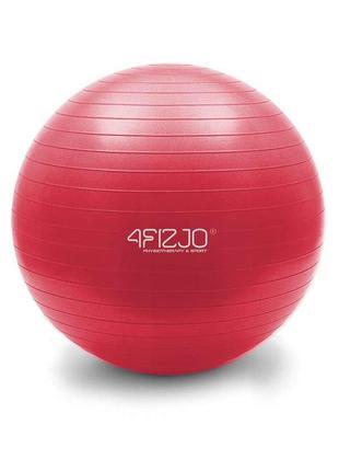 Мяч для фитнеса, фитбол 4fizjo 55 см anti-burst