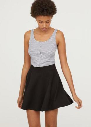 Оригинальная юбка солнце-клеш от бренда h&m разм. l