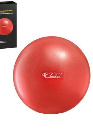 Мяч для пилатеса, йоги, реабилитации 4fizjo red 22 см