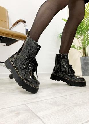 Шикарные женские зимние ботинки топ качество dr. martens ❄️🎁