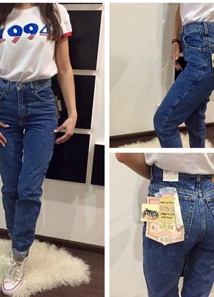 Мега крутые высокие джинсы lee cooper /высокая посадка /mom /мам джинс