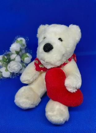 Nici мини мишка валентин с серцем с сердечком медвежонок мягкий