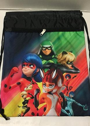 Рюкзак для обуви супергерои,сумка для сменки