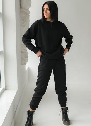 Фантастический спортивный костюм на флисе турция с капюшоном тёплый.брюки толстовка