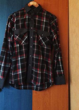 Рубашка rieppa slim fit скидка