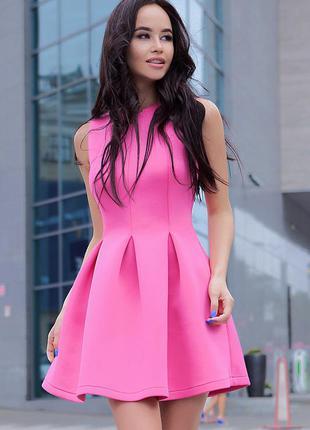 Яркое платье из неопрена от sl.ira в красивой коробочке от бренда